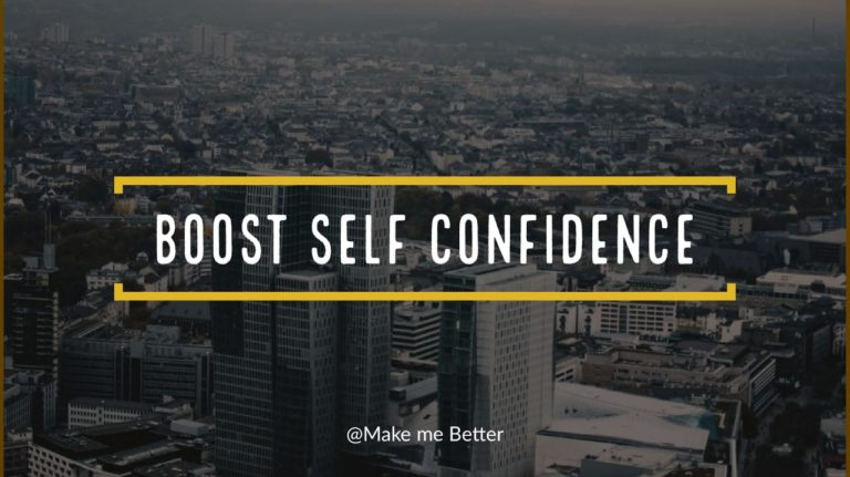 Boost Self-Confidence