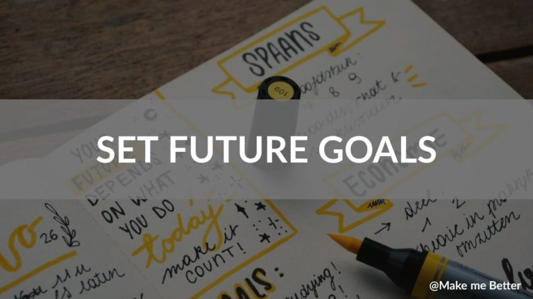 Set Future Goals