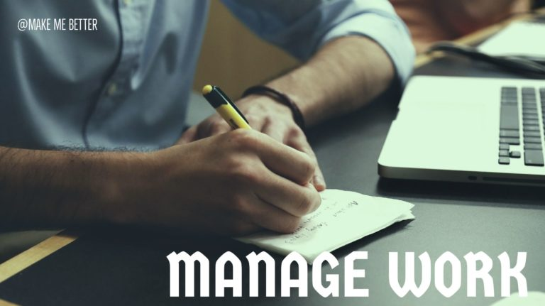 Manage a Heavy Workload at Work