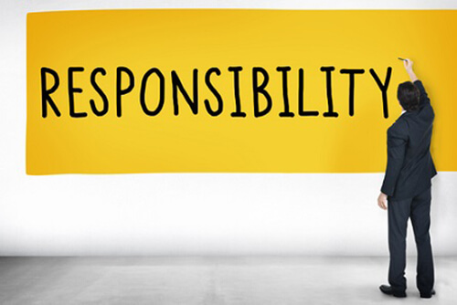 Responsibility for Your Life