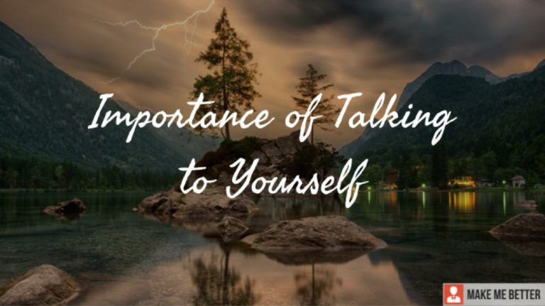 Talking to Yourself