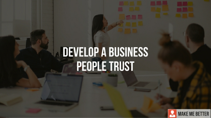 a Business People Trust