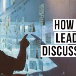 lead a discussion